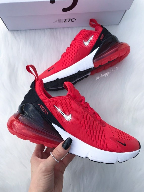 amazon affordable price various styles Swarovski Nike Air Max 270 Shoes Blinged Out With Swarovski Crystals Bling  Nike Shoes