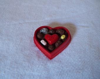 Vintage 1993 Hallmark Merry Miniature - Box of Candy - QSM8095