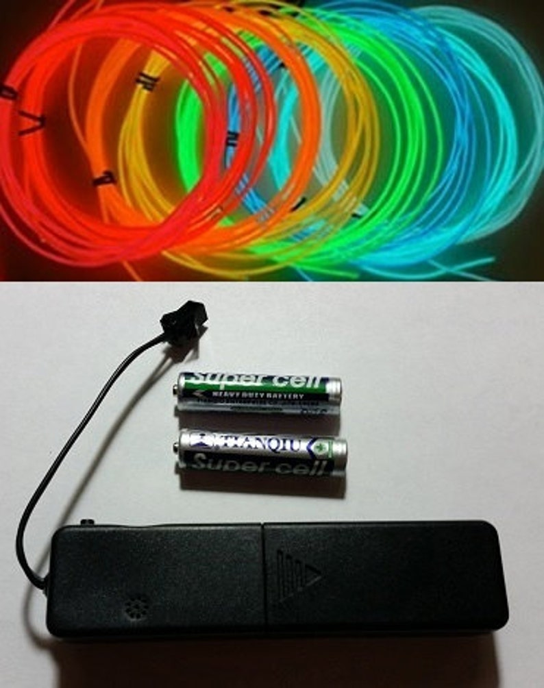 3-Mode Sound Activated El Wire Battery Pack  Replacement image 0