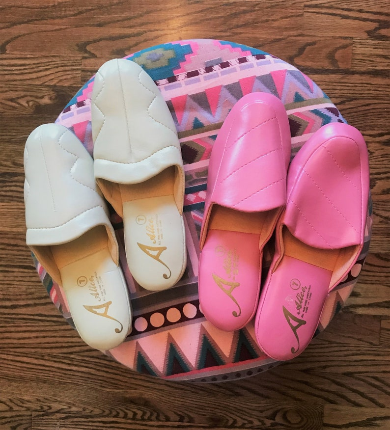 bd648e1606ed The Modern Housewife Slippers  1960s Women s Vintage