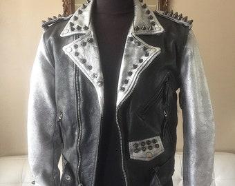 6bf99ea70 Punk jacket   Etsy