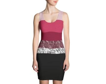 Black and Red Marble + Stripes - Mini Dresses ccae9c5a54f