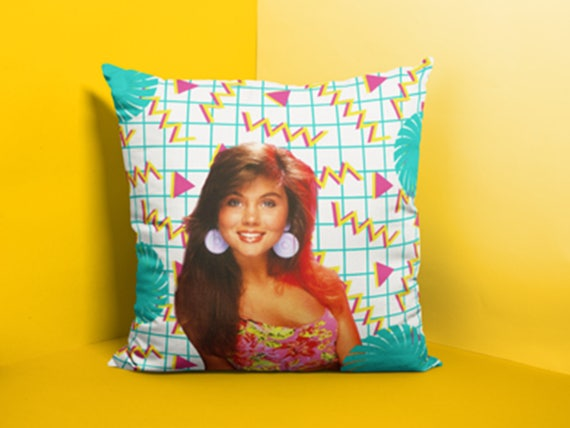 Kelly Kapowski Square Pillow