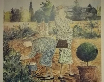 Stealing Cuttings - Sue Macartney-Snape signed Limited Edition Print