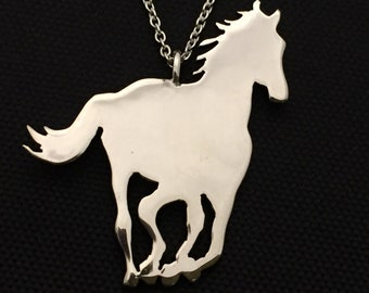 Fine Necklaces & Pendants Sterling Silver Horse Pendant #p149 At Any Cost