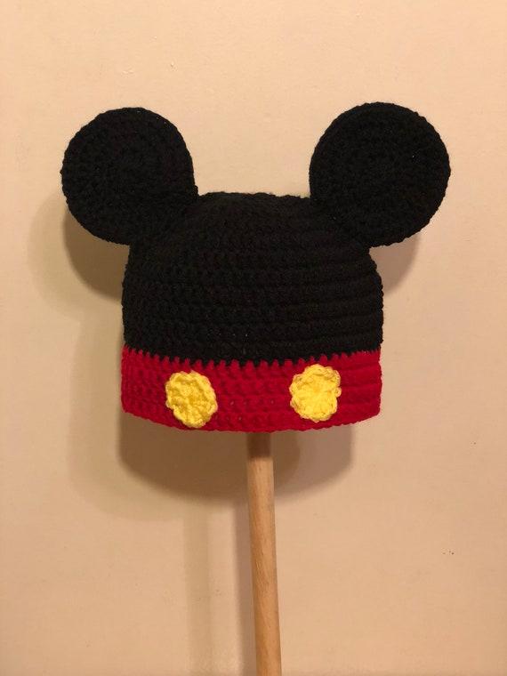 Erwachsene Kind Größe Micky Maus Häkelhut Auf Bestellung