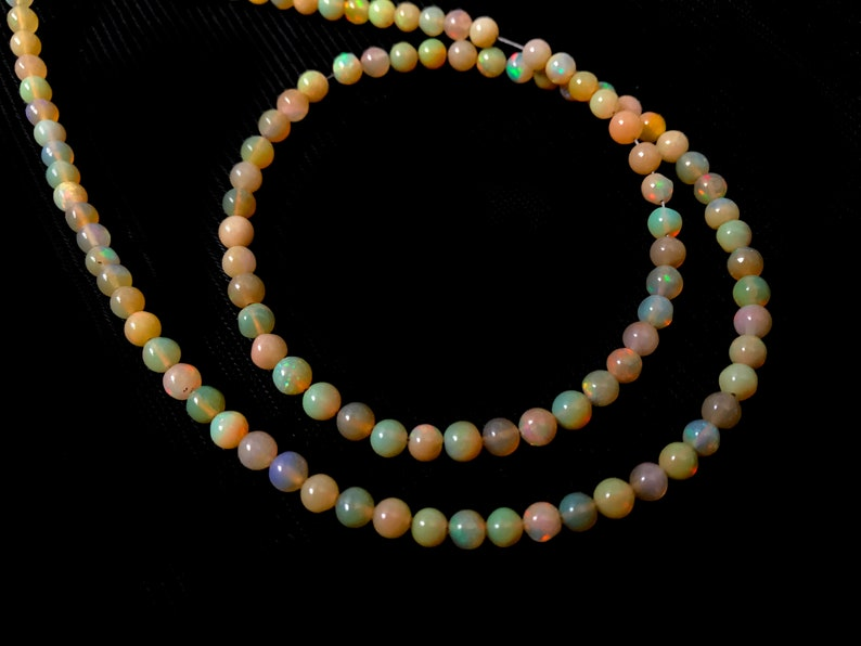 33.00 Carat Natural Ethiopian Opal Plain Round JP103