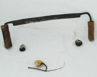 Vintage Wood Peeler - Old Peeler - Vintage Pliers - Hand Forged Peeler - Carpenter Tool - Antique Peeler - Tree Bark Remover - Sharp Peeling