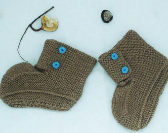 Knitted Socks, Knitted Slipper Boots, Indoor knitted slippers, House Shoes, Indoor shoes, Knitted socks,Kids Knitted Slippers, Gift Idea