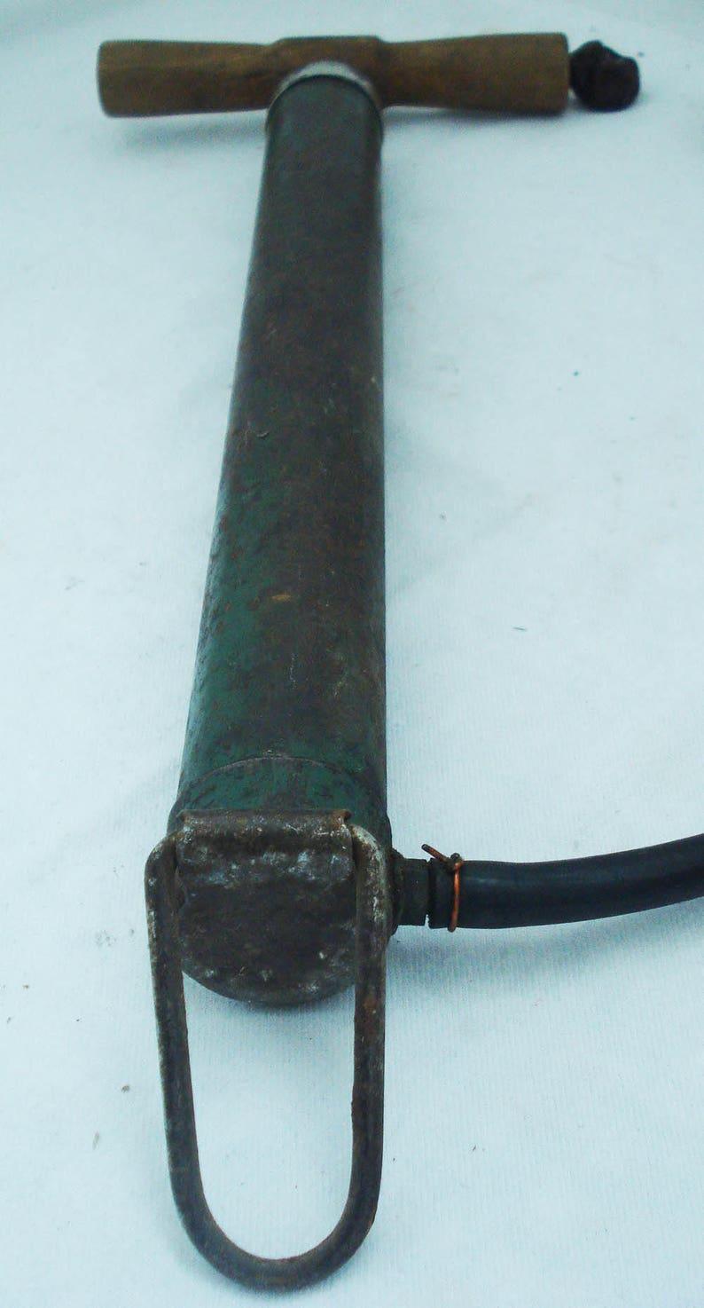 Vintage tire pump,mechanical pump,bicyle tire pump,iron tire pump,bicycle pump,air pump,vintage air pump,hand air pump,hand tire pump