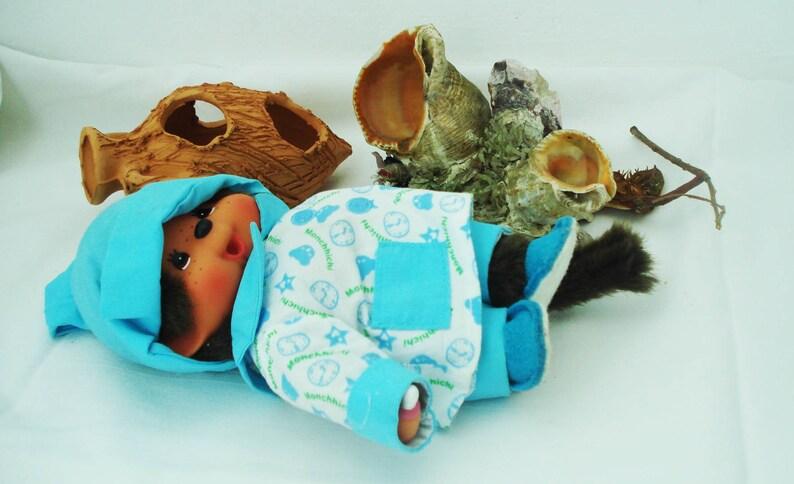 Vintage monchichi,1974,little monkey monchichi,stuffed toy,brown collectible monkey,soft plush toy,super stuffed monkey,monkey monchichi