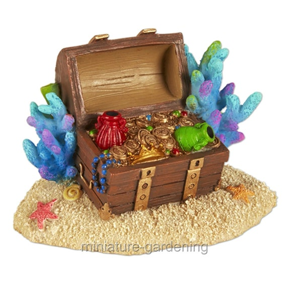 Fairy Garden Mermaid Sandcastle for Miniature Garden
