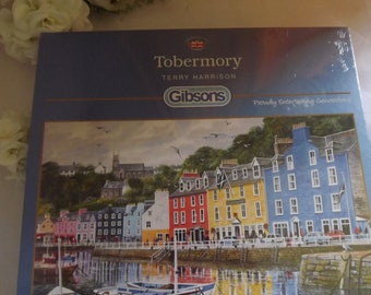 Tobermory , Mull Scotland , New Jigsaw Puzzle 1000 Pieces in Cellophane , Gibsons