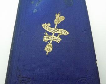 Scottish Clans Book Antique V.Rare , Arms/Garb/Chief etc