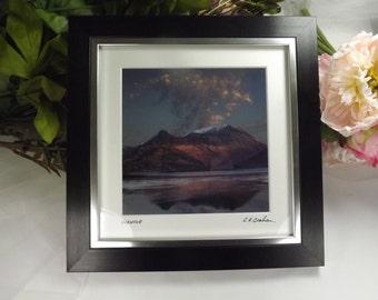 Glencoe, Scottish Framed Photograph Glencoe , Signed