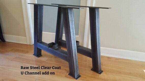 Incroyable Metal Table Legs 3 Steel Table Legs Iron Table Legs | Etsy