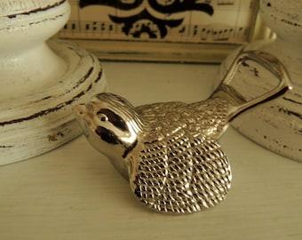 Vintage Bottle Opener, Metal Bird, Home Kitchen Table Bar Pub Decor Decoration Ornament, Collectibless