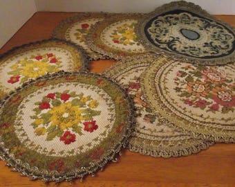 Vintage Table Mats
