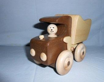 Wood Dump Truck