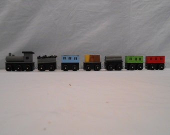 Mini Wood Train