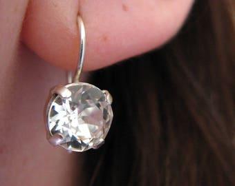 Earrings Silver 925 Swarovski Crystal