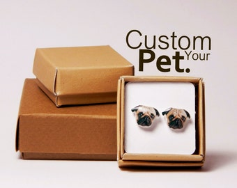 Custom earrings order made specially for you! Order a pair of earrings with your favorite actor, singer, pet, family member ect, Gift idea
