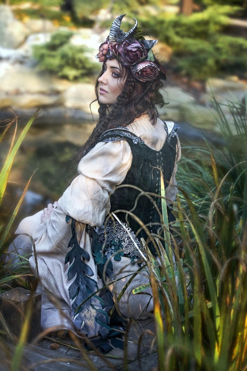Robe elfe de fantaisie avec corset-vest robe de mariée | Etsy