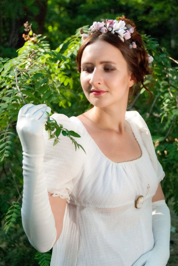 Regency dress Jane Austen gown Reenactment Costume made to | Etsy