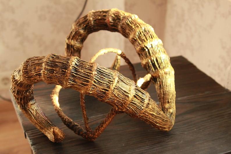 Demon tiefling  horns headdress horned headband dragon horns image 0