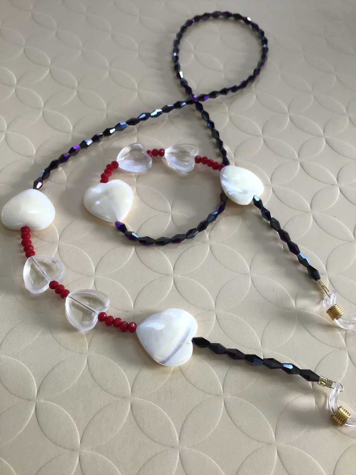 Love Red, White and Blue Eyeglass / Sunglass Chain