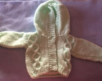 Baby knitted Hoodie