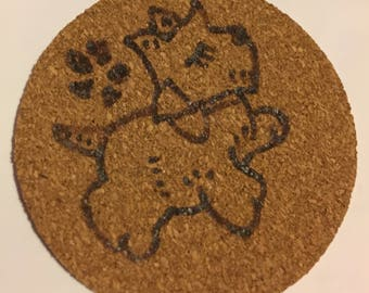 Various Dog Coasters