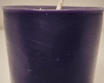 Purple Votive Etsy