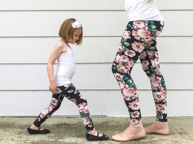 Mommy and Me Mommy and Me Leggings Mommy and Me Outfits  58da76d5df