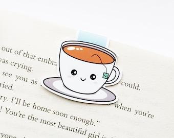 Cute Tea Magnetic Bookmark