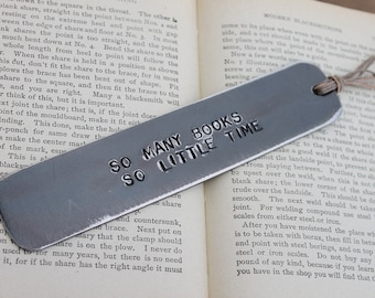 Personalized Bookmark with dad jokes hand stamped with your favorite quote for dad or mom, unique planner accessories, book Gift for Grandma