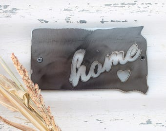 US State Sign, Personalized home map, city state heart sign, Love story Art, Gallery Wall ideas, Never Apart, Home is where mom is