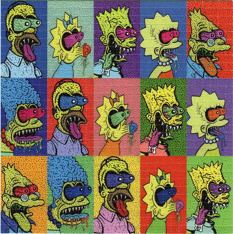 Lisa et Bart Simpson porno comique