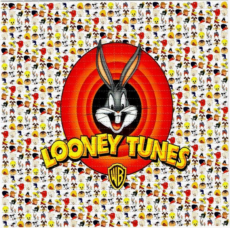 Looney Tunes Bugs Bunny Blotter Art Perforated Acid Art Etsy