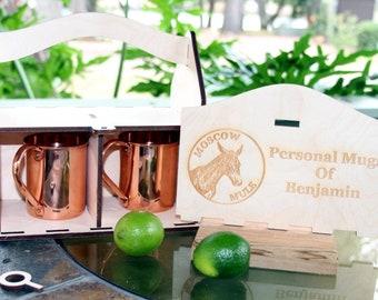 Moscow Mule Mug Box,Moscow Mule Mugs,Copper Mugs,Personalized Moscow Mule Mugs,Enggraved Moscow Mule Mugs,Whiskey Mugs, Personalized Mugs