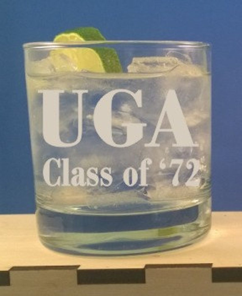 Personalized 11 oz Rocks Glass Engraved Tumber-On The Rocks image 0