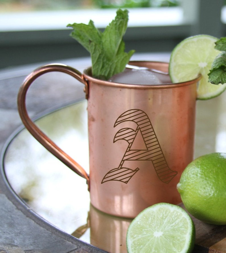 Moscow Mule MugSolid Copper MugCopper Moscow Mule image 0