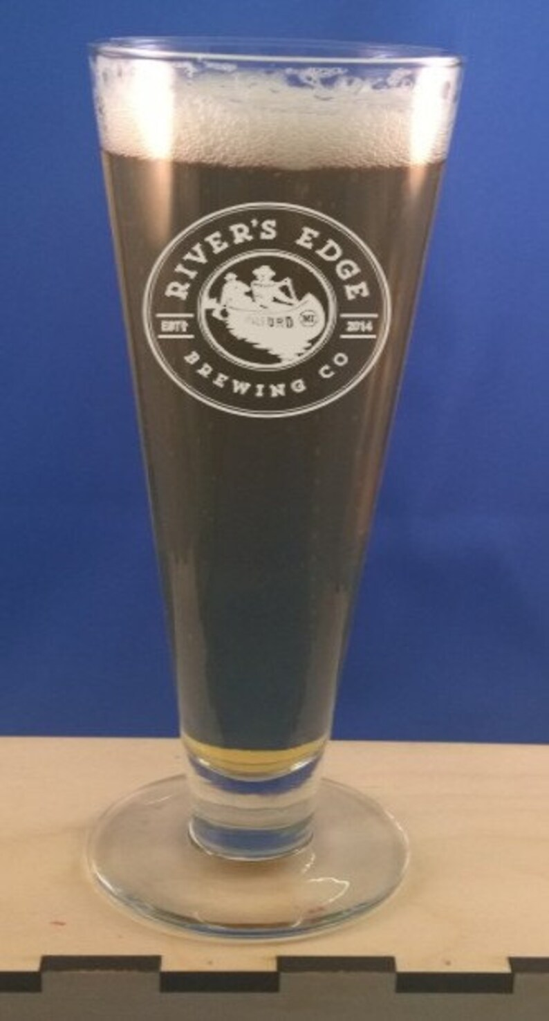Personalized 14 oz. pilsner-Engraved Beer Glass-Best image 0