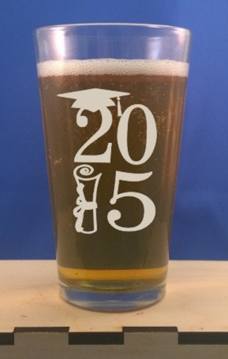 Personalized Pint Glass-16 oz. glass-Engraved Beer image 0