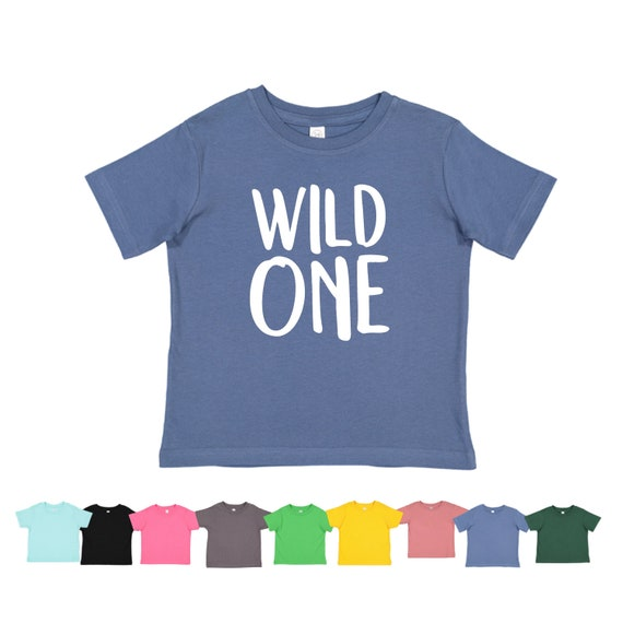 Wild One First Birthday Theme Year Shirt