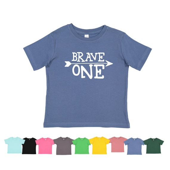 Brave One First Birthday Shirt