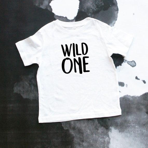 Wild One First Birthday Theme Year Shirt