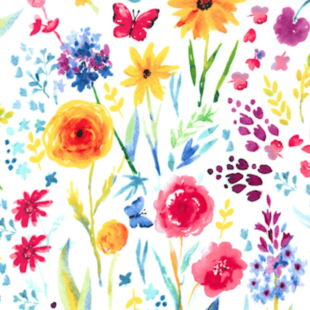 Fabric Flower Pattern Amazing Decorating Design