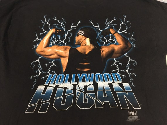 true vintage HOLLYWOOD HOGAN wcw nwo 1998 shirt -