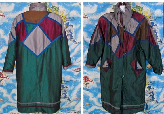Insane 80s 90s Full Length PUFFER SKI Jacket - Col